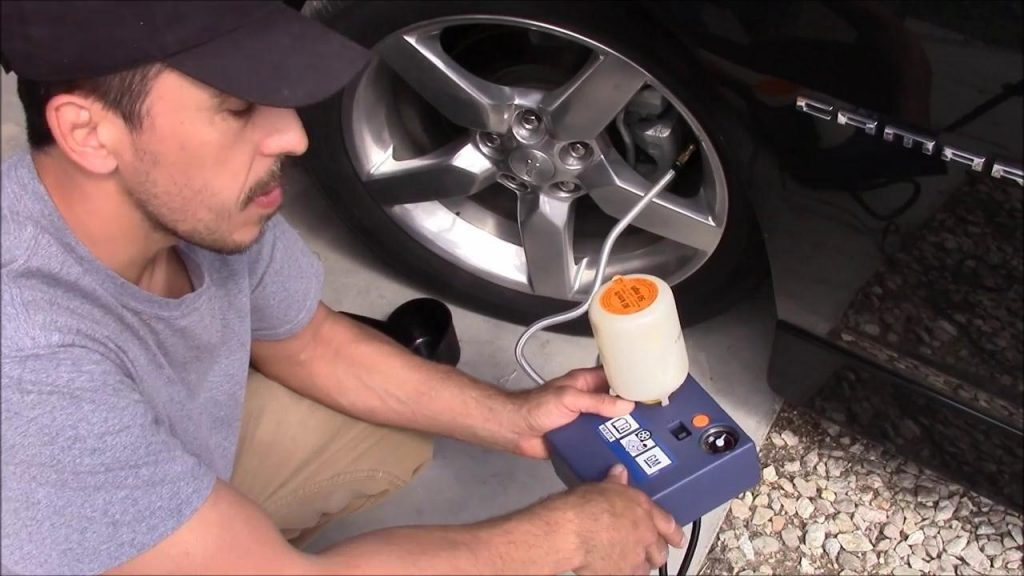 How to Use the Chevrolet Camaro Tire Inflator Kit